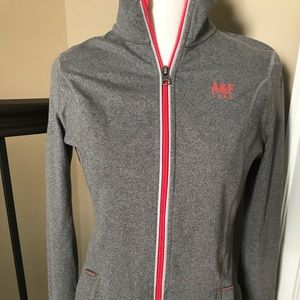 A & F Fitted zip jacket
